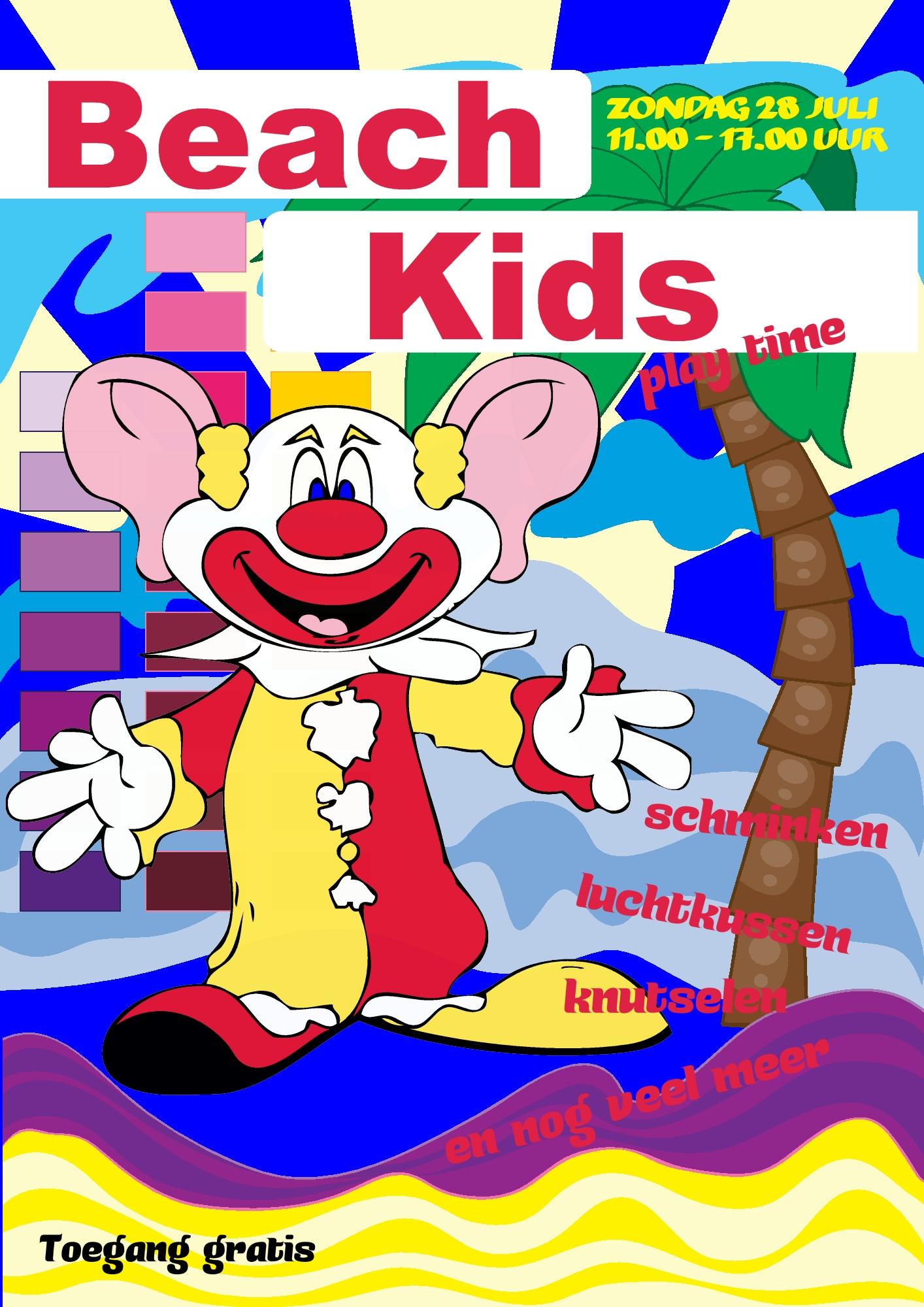 Beach Kids 2019 Strandhuis De Golfslag