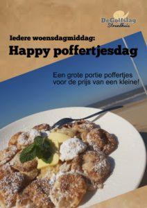 Iedere woensdag: Happy Poffertjesdag @ Strandhuis De Golfslag | Wassenaar | Zuid-Holland | Nederland