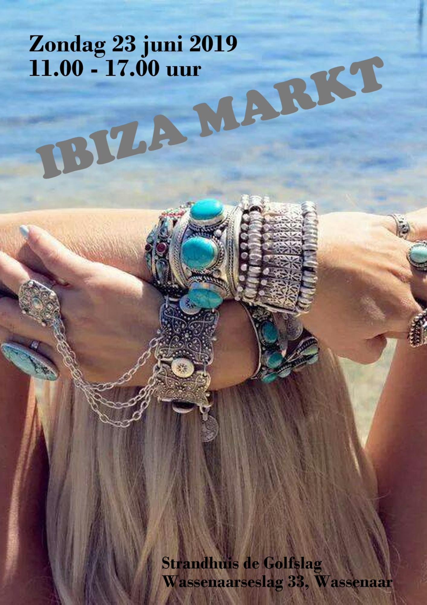 Ibiza markt 2019 strandhuis De Golfslag